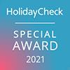 HolidayCheck Special Award 2021